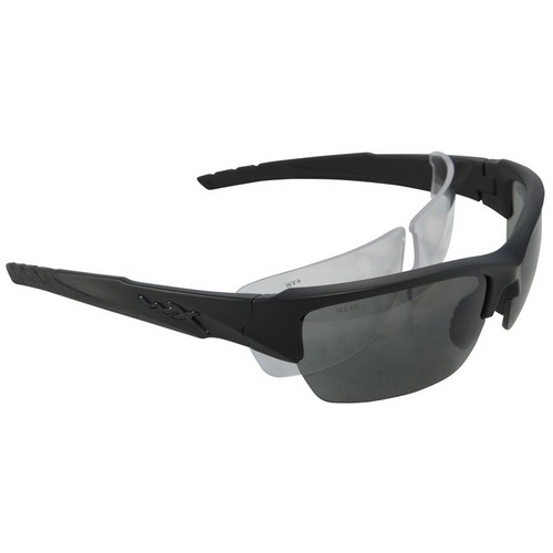 1d1a198df2 Wiley X Valor Matte Black Frame   Smoke and Clear Lens