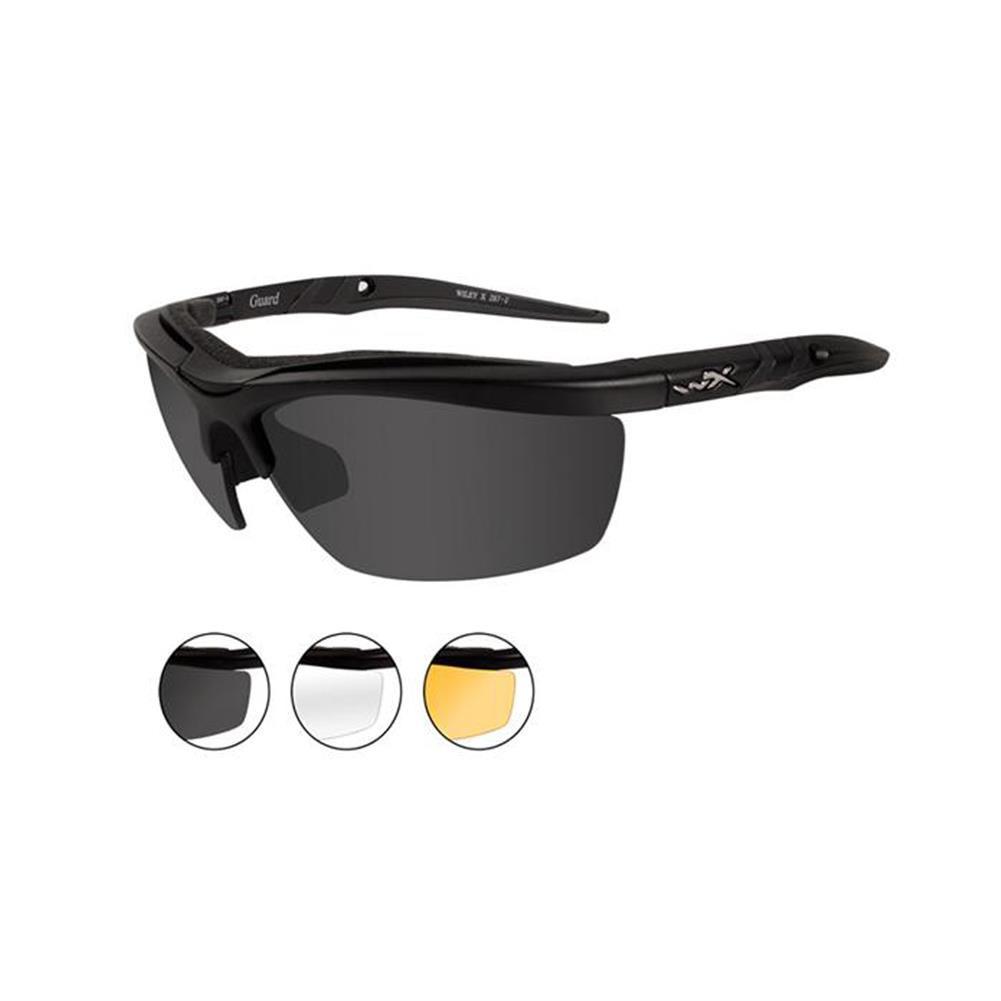 699473a9ec Wiley X Guard 3 Lens Sunglasses