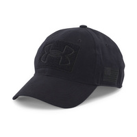 Under Armour Tac Patch Cap with US Flag - Black