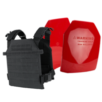 Condor Sentry Plate Carrier [Colour: Black] w/ Armor Australia Weighted Training Plate Combo