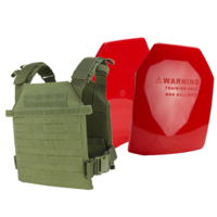 Condor Sentry Plate Carrier [Colour: Olive Drab] w/ Armor Australia Weighted Training Plate Combo