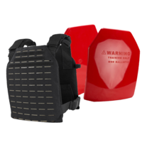 Condor LCS Sentry Plate Carrier [Colour: Black] w/ Armor Australia Weighted Training Plate Combo