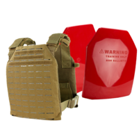 Condor LCS Sentry Plate Carrier [Colour: Coyote Brown] w/ Armor Australia Weighted Training Plate Combo