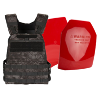 5.11 GE07 TacTec Plate Carrier [Colour: Night] w/ Armor Australia Weighted Training Plate Combo