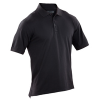 5.11 Tactical Jersey Short Sleeve Polo Shirt - Black
