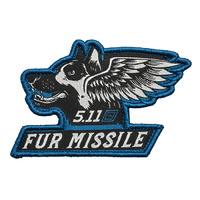 5.11 Tactical Fur Missiles Dog Patch