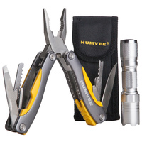 Humvee Multi Plier and LED Flashlight Combo Gift Set