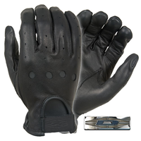 Damascus Full-Finger Leather Driving Gloves