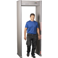 Garrett MZ6100 Walk-Through Metal Detector - Grey