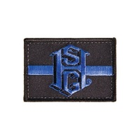 High Speed Gear Thin Blue Line Patch