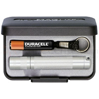 Maglite Solitaire AAA Keychain Light in Presentation Box - Silver