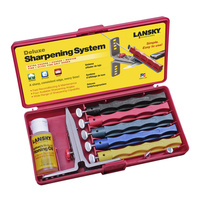 Lansky Deluxe 5-Stone System / Precision Knife Sharpening Kit LKCLX