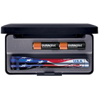 Maglite AA in Presentation Box - American Flag Design
