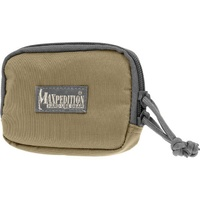 "Maxpedition Hook & Loop 3"" x 5"" Zipper Pocket"
