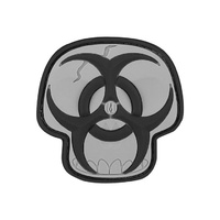 Maxpedition Biohazard Skull Morale Patch