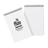 Modestone A31 Top Spiral Notepad 96x146mm- 50 sheets - WHITE