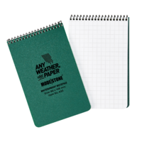 Modestone A33 Top Spiral Notepad 96x146mm- 50 sheets - GREEN