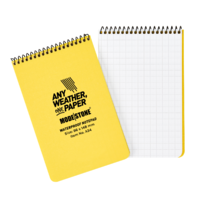 Modestone A34 Top Spiral Notepad 96x146mm- 50 sheets - YELLOW