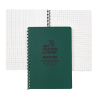 Modestone C43 Side Spiral Notepad A4 210x297mm - 50 sheets - GREEN