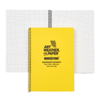 Modestone C54 Side Spiral Notepad A5 148x210mm - 50 sheets - YELLOW
