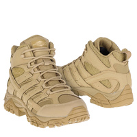 Merrell Tactical Moab 2 Mid Tactical WP Boots - Coyote
