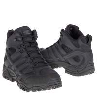 Merrell Tactical Moab 2 Mid Tactical WP Boots - Black