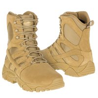 Merrell Tactical Moab 2 8inch Tactical Defense Boots - Coyote