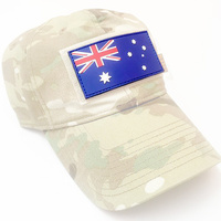 PVC Rubber Morale Patch - Australian Flag