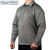 PPSS SlashPRO - Slash Resistant Long Sleeve Polo Sweatshirt