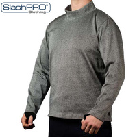PPSS SlashPRO - Slash Resistant Turtleneck Sweatshirt with Thumbholes
