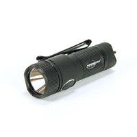PowerTac E10R 600-Lumen Rechargeable LED Flashlight