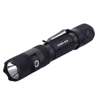 PowerTac E9R-G4 2550 Lumen USB Rechargeable LED Flashlight