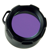 PowerTac Blue Filter Cover for Warrior, Reloaded, Hero
