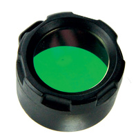 PowerTac Green Filter Cover for Warrior, Reloaded, Hero