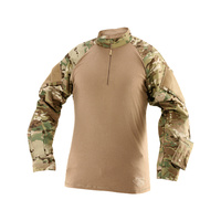 TruSpec TRU 1/4 Zip Combat Shirt MultiCam Poly/Cotton Rip Stop