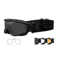 Wiley X Spear Goggle with 3 Lens and RX Insert Included