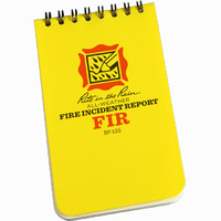 Rite-In-The-Rain All-Weather Fire Incident Report 3in x 5in