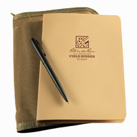 Rite-In-The-Rain Tactical Field Ring Binder Kit Tan Cover