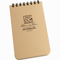 Rite-In-The-Rain Tactical Pocket Notebook Tan 3in x 5in