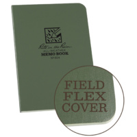Rite-In-The-Rain Memo Book Green 3.5in x 5in