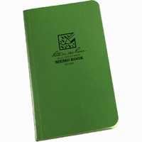 Rite-In-The-Rain Tactical Memo Book Green 3.5in x 6in