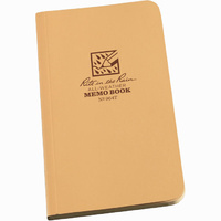 Rite-In-The-Rain Tactical Memo Book Tan 3.5in x 6in