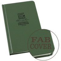 Rite-In-The-Rain Large Bound Book Green 6.75in x 8.75in