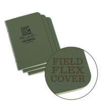 Rite-In-The-Rain Mini Stapled Notebook Green 3-pack