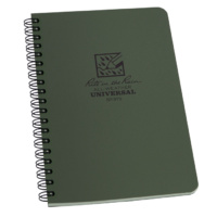 Rite-In-The-Rain Side Spiral Notebook Green 4 5/8in x 7in