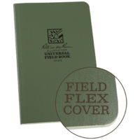 Rite-In-The-Rain Field Flex Bound Book Green 4 5/8in x 7 1/4in