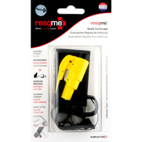 ResQMe Car Escape Tool Combo Pack - Yellow