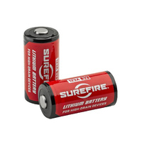 SureFire SF123A Lithium Batteries - Pack of 2