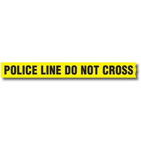 Sirchie Barrier Tape with Dispenser (Police Line Do Not Cross) - 1 Box