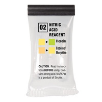 Sirchie - NARK II Nitric Acid Reagent (Heroin/Morphine) - Box of 10